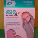 Love to Dream Love to Swaddle Up Original Pink Medium