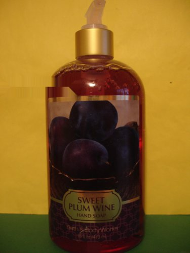 Bath & Body Works Sweet Plum Wine Hand Soap Large 16 oz