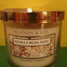 Bath & Body Works Slatkin Vanilla Bean Noel Candle 4 oz