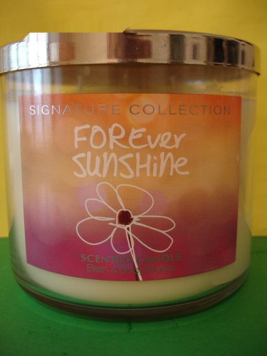 Bath & Body Works Forever Sunshine Candle 3 Wick Large