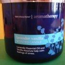 Bath & Body Works Aromatherapy Lavender Vanilla Candle 3 Wick