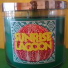 Bath and Body Works Sunrise Lagoon 3 Wick 14.5 oz Candle