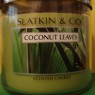 Bath & Body Works Slatkin Coconut Leaves Candle 3 Wick