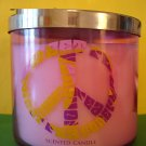Bath and Body Works Sweet Pea Forever Large 3 Wick Candle