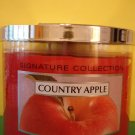 Bath and Body Works Country Apple 3 Wick Candle Large