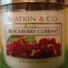 Bath & Body Works Slatkin Blackberry Currant 3 Wick Candle