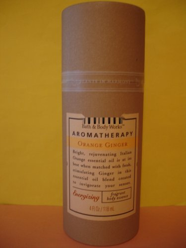Bath & Body Works Aromatherapy Orange Ginger Essence Body Mist Spray Large Full Size