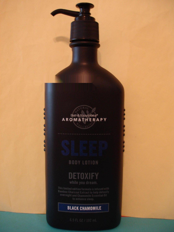 Bath & Body Works Aromatherapy Black Chamomile Lotion Full Size