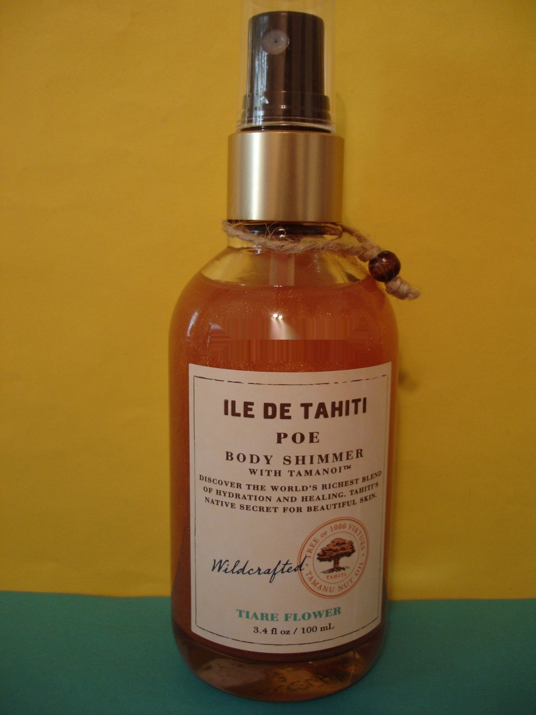 Bath & Body Works ILE De Tahiti Tiare Flower Shimmer Spray Full Size