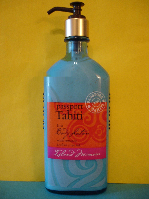 Bath And Body Works Passport Tahiti Island Mimosa Body