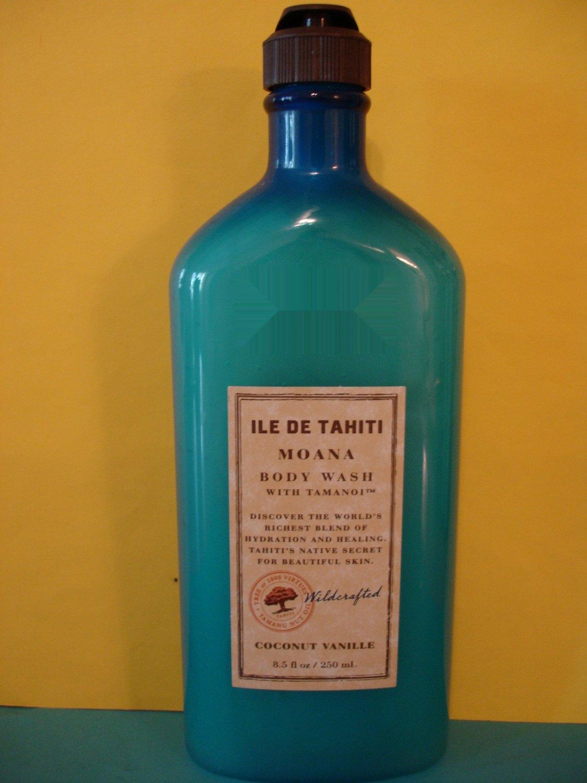 Bath & Body Works ILE De Tahiti Coconut Vanille Wash Large
