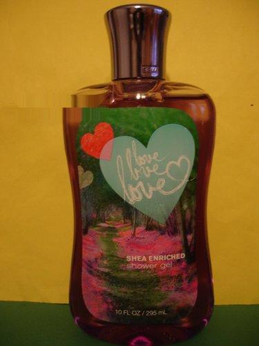 Bath & Body Works Love Love Love Shower Gel Large Full Size