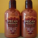 Bath & Body Works Temptations 2 Pecan Passion 3 in 1 Body Wash