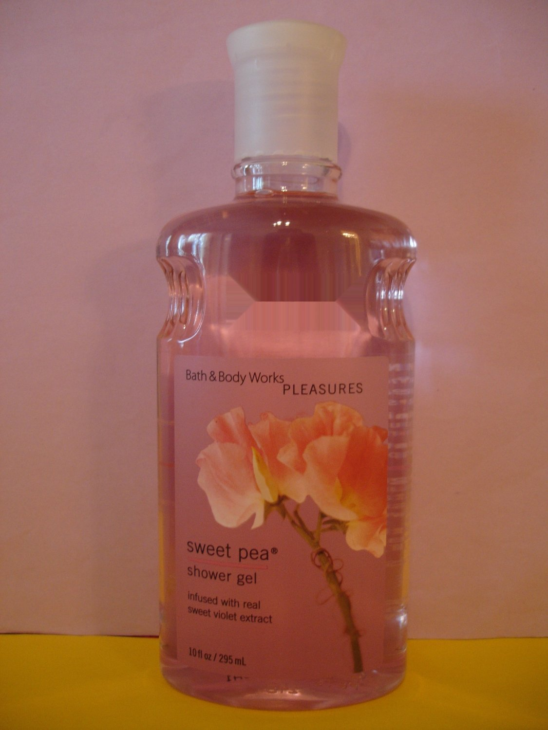 Bath And Body Works Sweet Pea Original Shower Gel 10 Oz Large