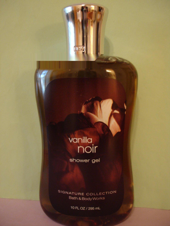 bath body works vanilla noir shower gel large full size. Black Bedroom Furniture Sets. Home Design Ideas