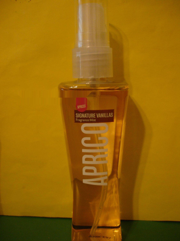 Bath and Body Works Apricot Vanilla Splash Fragrance Mist 3 oz