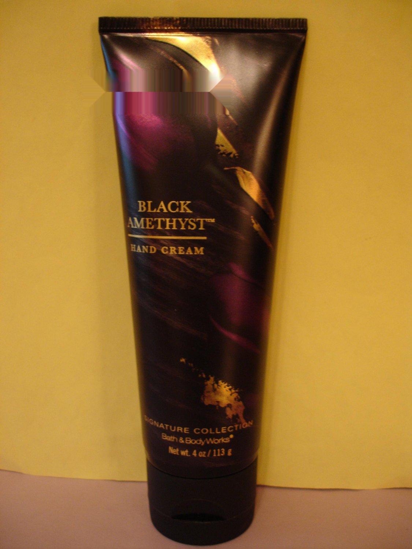 Bath & Body Works Black Amethyst Hand Cream Full Size