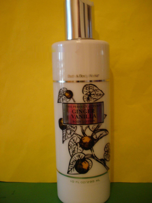 Bath & Body Works Ginger Vanilla Body Lotion Large Full Size
