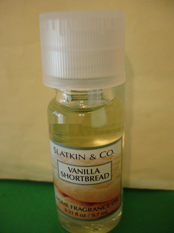 Bath & Body Works Slatkin Vanilla Shortbread Home Fragrance Oil