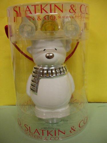 Bath and Body Works Slatkin Polar Bear Home Fragrance Oil Warmer Creamy Nutmeg Cinnamon Oil