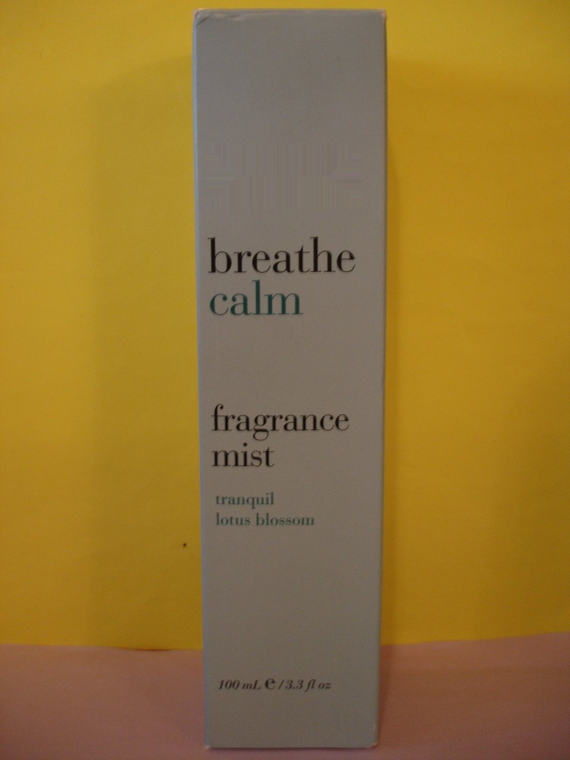 Bath and Body Works Breathe Calm Lotus Blossom Mist Perfume Large Full Size