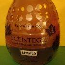 Bath & Body Works Slatkin Leaves Scentegg Air Freshener