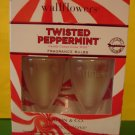 Bath & Body Works 2 Twisted Peppermint Wallflower Refill