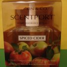 Bath & Body Works 2 Spiced Cider Scentport Refill