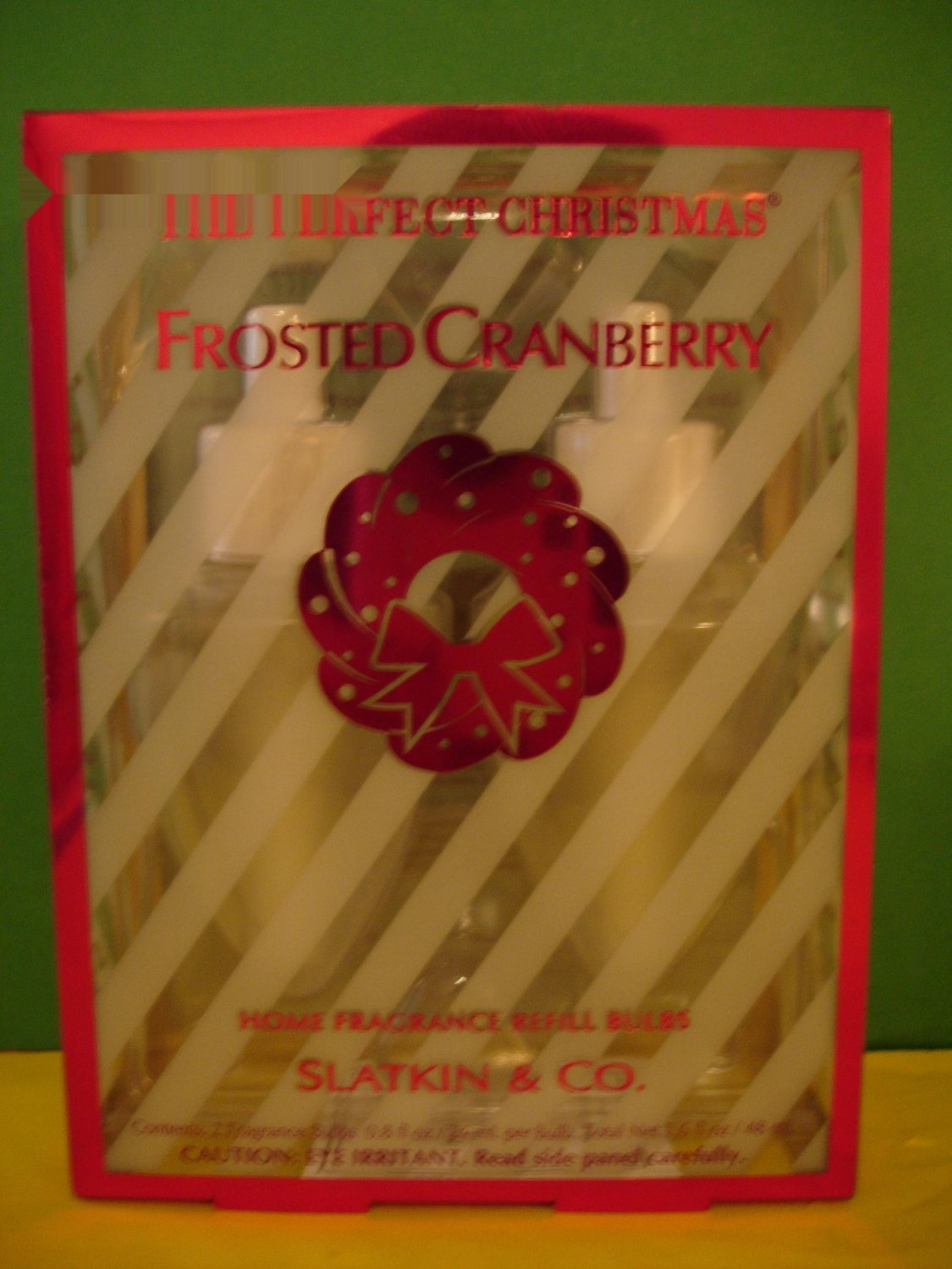 Bath Amp Body Works 2 Frosted Cranberry Wallflower Refills