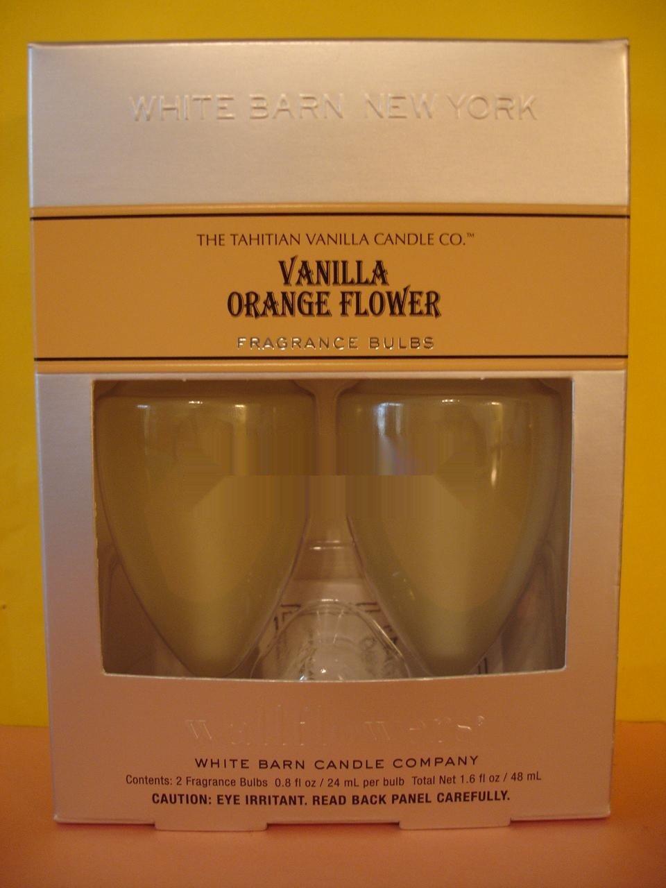 Bath & Body Works 2 Vanilla Orange Flower Wallflower Refill