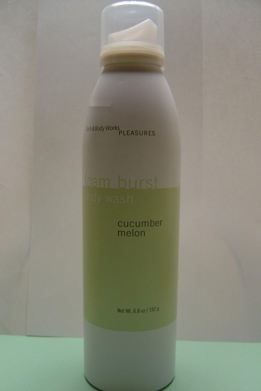 Bath & Body Works Cucumber Melon Foam Burst Wash Full Size