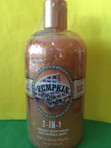 Bath and Body Works Pumpkin Pecan Waffles 2 in 1 Body Wash Large