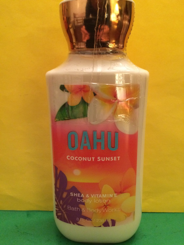 Bath Amp Body Works Oahu Coconut Sunset Body Lotion