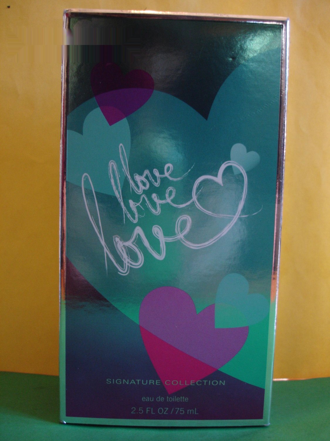 Bath Amp Body Works Love Love Love Perfume Edt Large Full Size