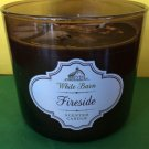 Bath and Body Works Fireside Large 3 Wick Candle