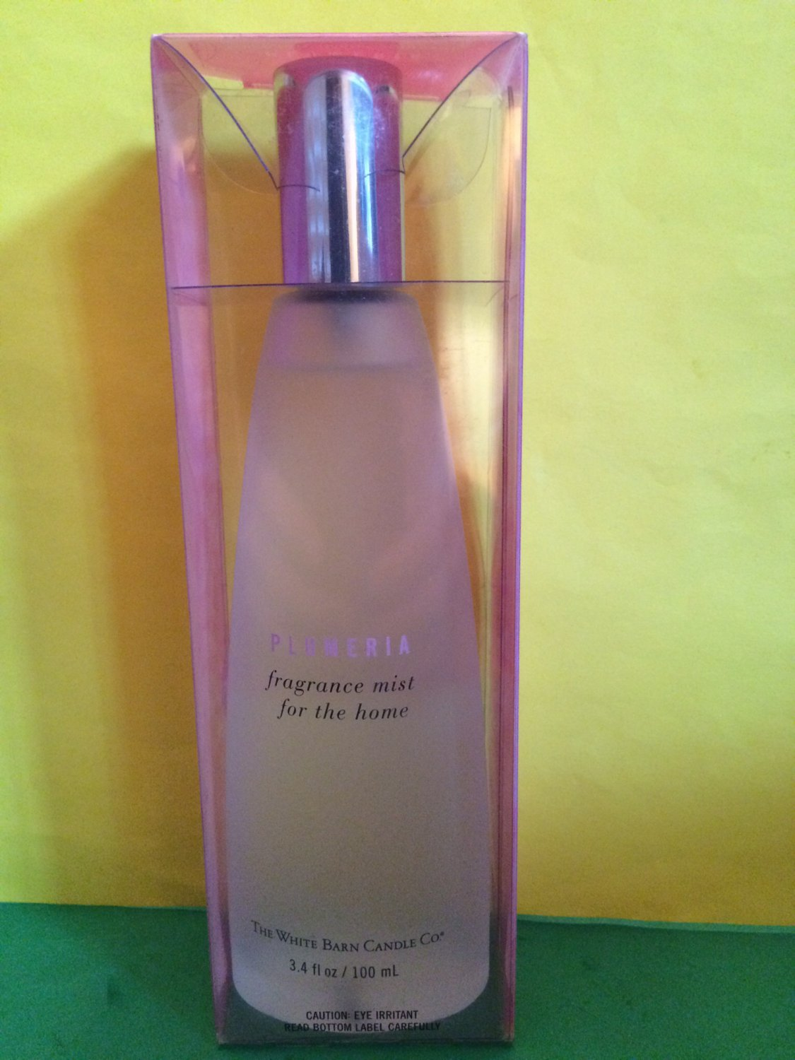 Bath body works white barn plumeria home fragrance mist for Bath and body works scents best seller