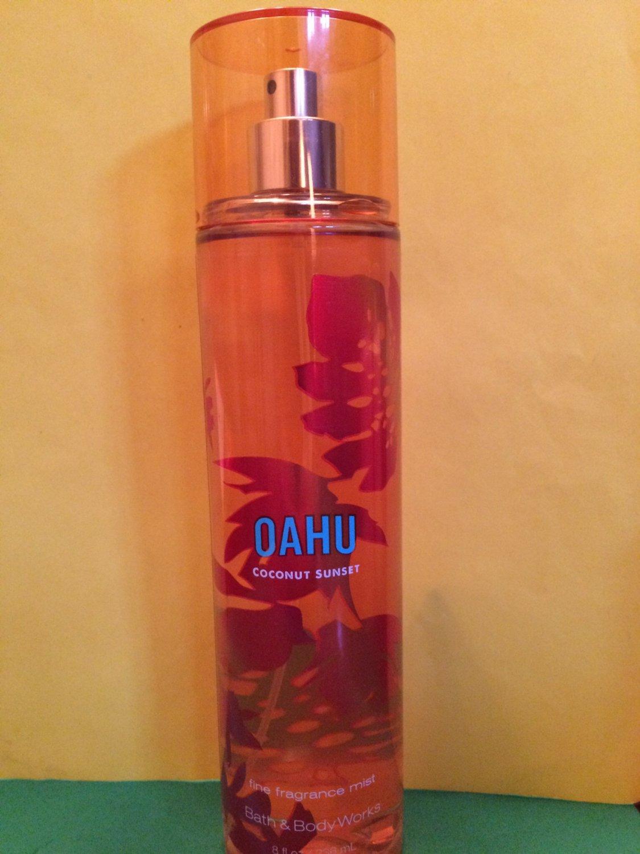 Bath Amp Body Works Oahu Coconut Sunset Fine Fragrance Mist