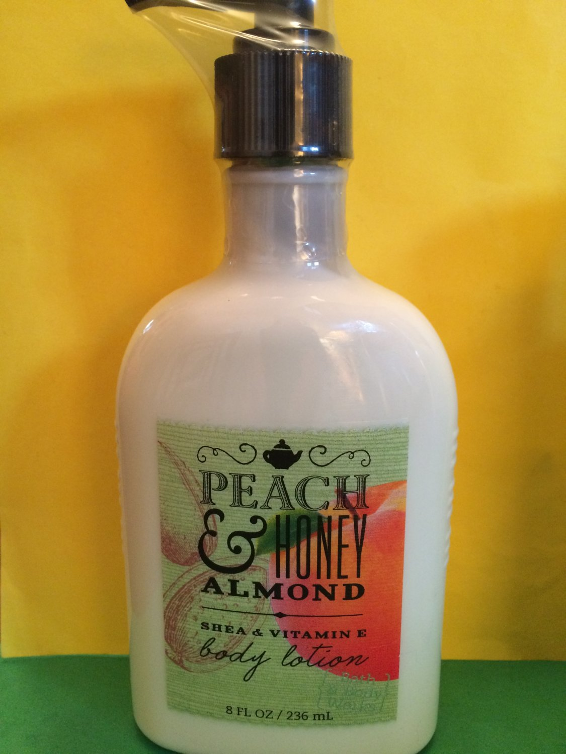 Bath Amp Body Works Peach And Honey Almond Body Lotion Large