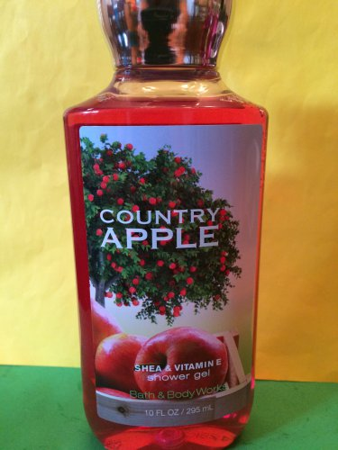 Bath & Body Works Country Apple Showe Gel Full Size