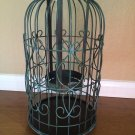 Bath and Body Works Metal Dome Cage 3 Wick Candle Holder Luminary