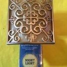 Bath and Body Works Gold Scroll Shield Night Light Wallflower Unit