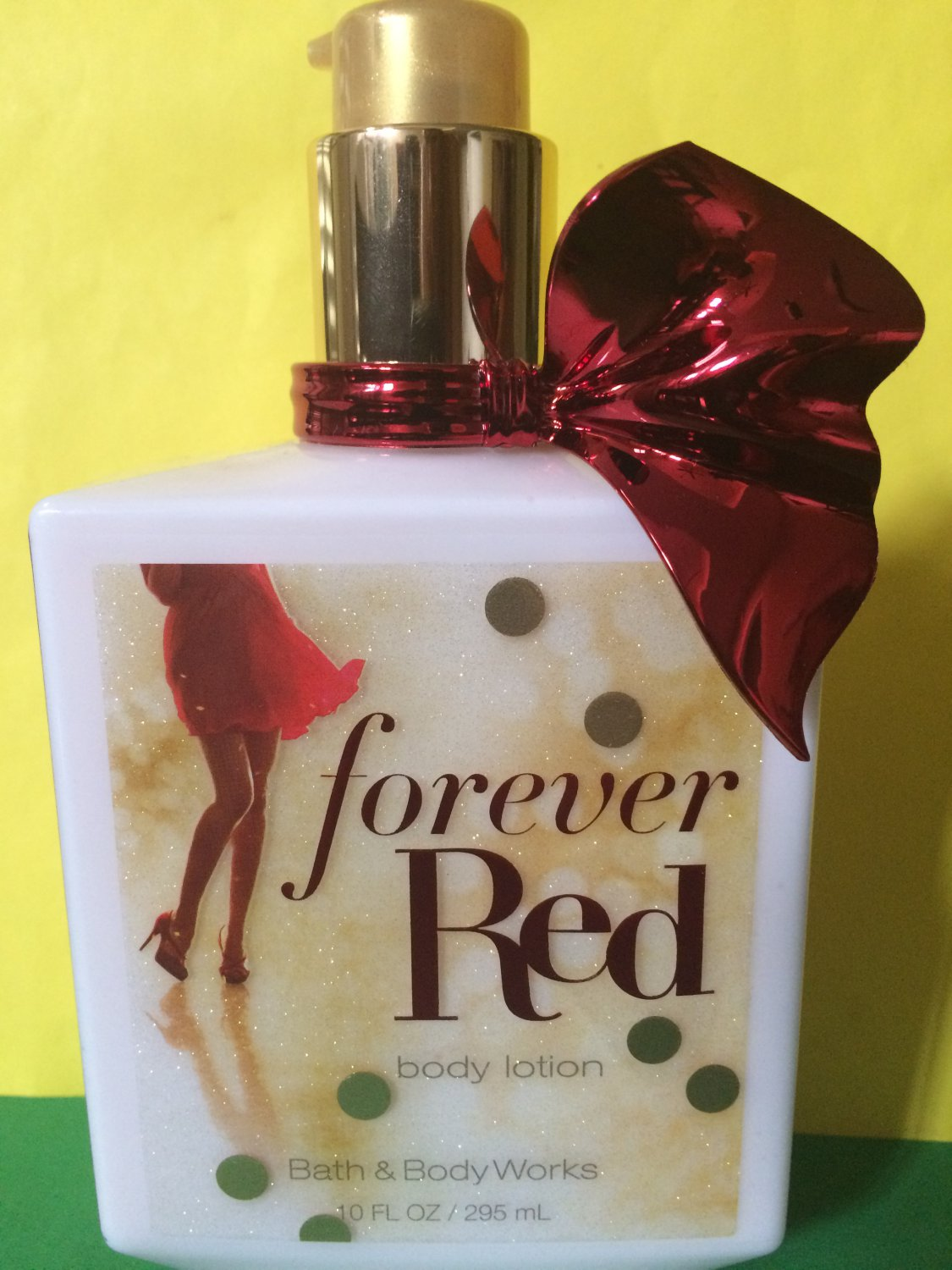 Bath Amp Body Works Forever Red Lotion Ex Large 10 Oz
