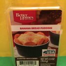 Better Homes and Gardens Banana Bread Pudding Scented Wax Cubes