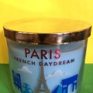 Bath and Body Works Paris French Daydream Candle Large 3 Wick