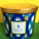 Bath and Body Works Beach Breeze Candle Large 3 Wick