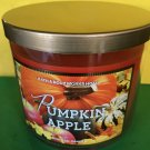 Bath and Body Works Pumpkin Apple Candle Large 3 Wick