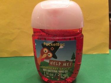 Bath & Body Works Help Me Cranberry Sauce Anti Bacterial Hand Gel