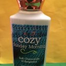 Bath & Body Works Cozy Sunday Morning Body Lotion Full Size
