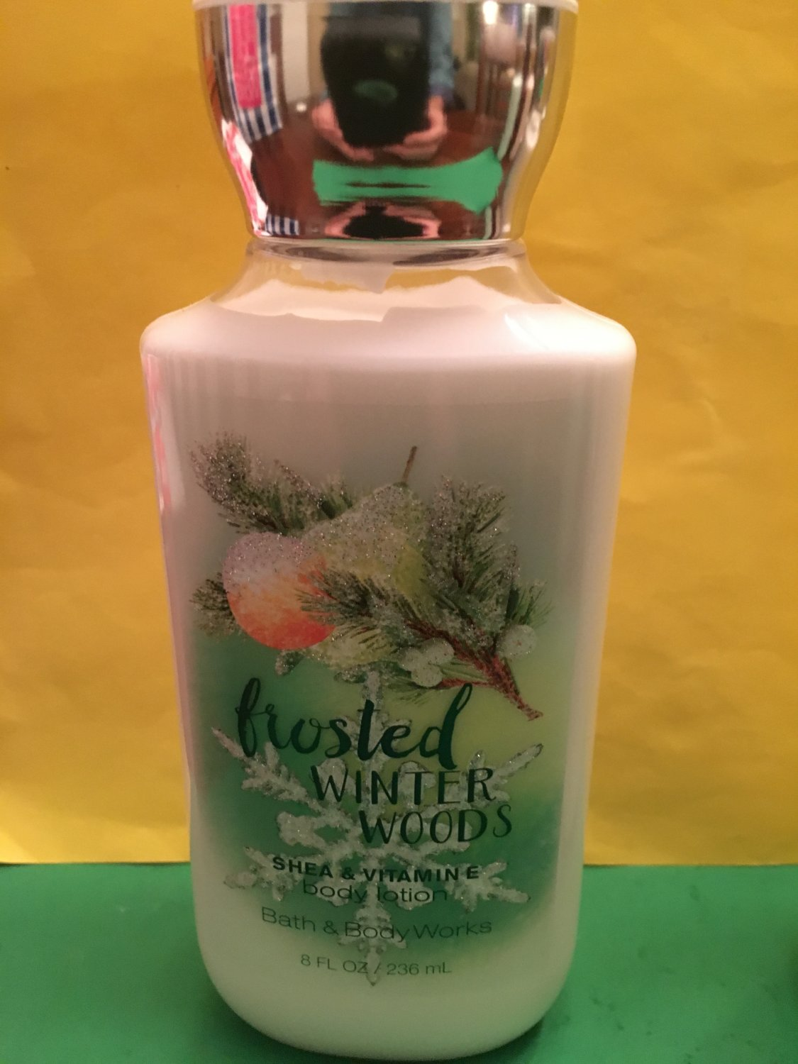 Bath Amp Body Works Frosted Winter Woods Body Lotion Full Size