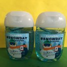 Bath & Body Works 2 Snowday Anti Bacterial Hand Gel